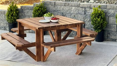 Mini Picnic Table Designs