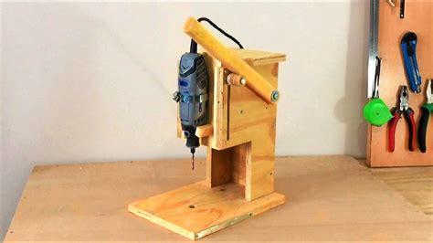 Mini-Drill-Press-Router-Table-Dremel-Plans