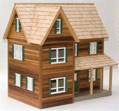 Miniature Dollhouse Blueprints Plans