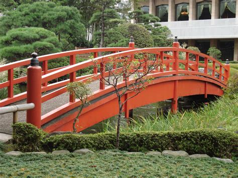 Miniature Japanese Garden Bridges