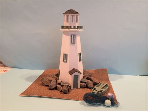 Miniature Lighthouse Building Kits