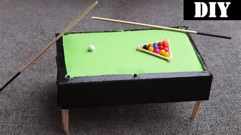 Miniature-Pool-Table-Diy