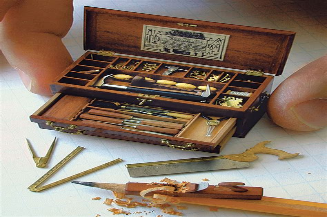 Miniature-Woodworking-Tools-Furniture