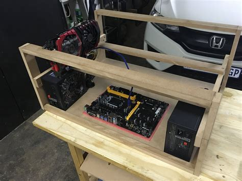 Mining Rigs Wood Diy Small