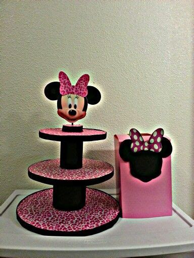 Minnie Mouse Cupcake Stand Diy