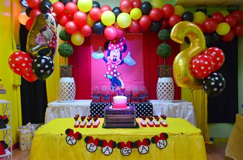 Minnie Mouse Diy Birthday Party