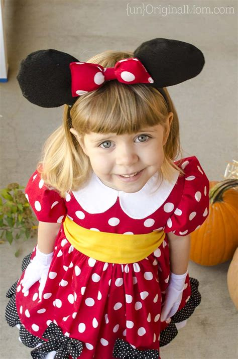 Minnie Mouse Diy Costume For Girl