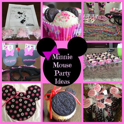 Minnie Mouse Diy Decorations Printables