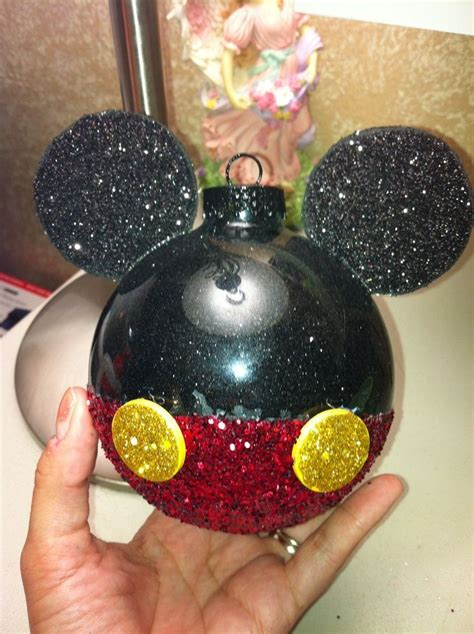 Minnie Mouse Diy Ornaments
