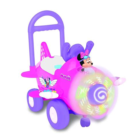 Minnie Mouse Ride On Airplane Toy