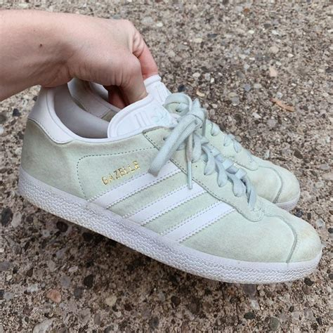 Mint Green Adidas Sneakers