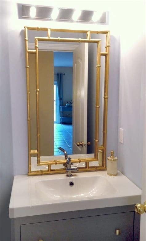 Mirror Wood Frame Diy Glam
