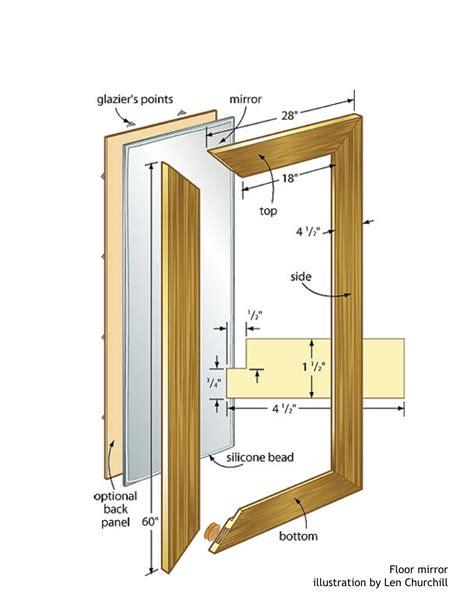 Mirror-Frame-Woodworking-Plans
