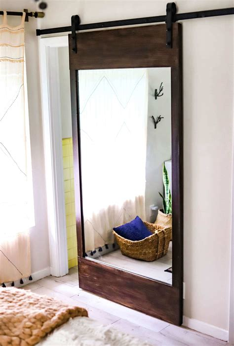 Mirrored Barn Door Diy Hardware
