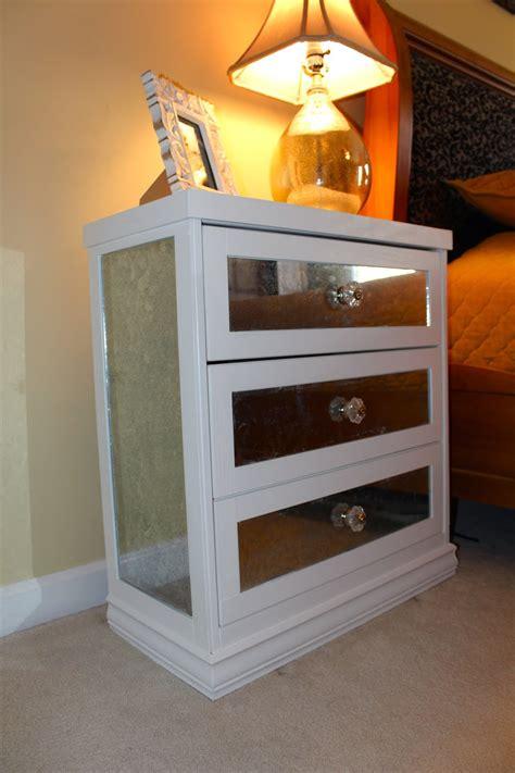 Mirrored-Nightstand-Diy-Ikea