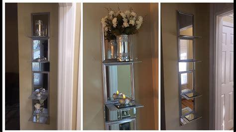 Mirrored-Shelf-Diy