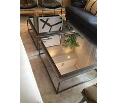 Best Mirrored coffee table diy