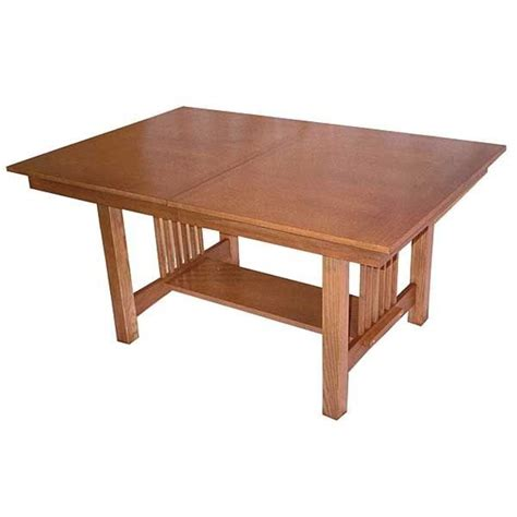 Mission Dining Table Plans Woodworking