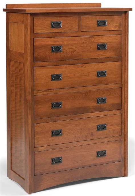 Mission Style Chest Of Drawer Plans