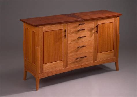 Mission Style Sideboard Plans