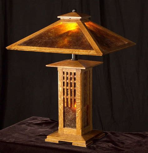 Mission Style Table Lamp Plans Wood