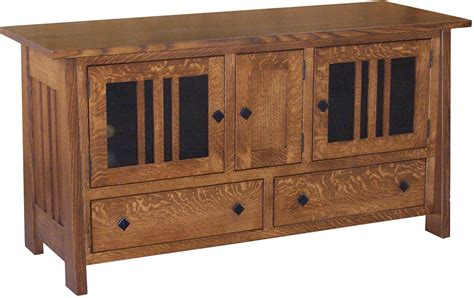 Mission Style Widescreen Plasma Tv Stand Woodworking