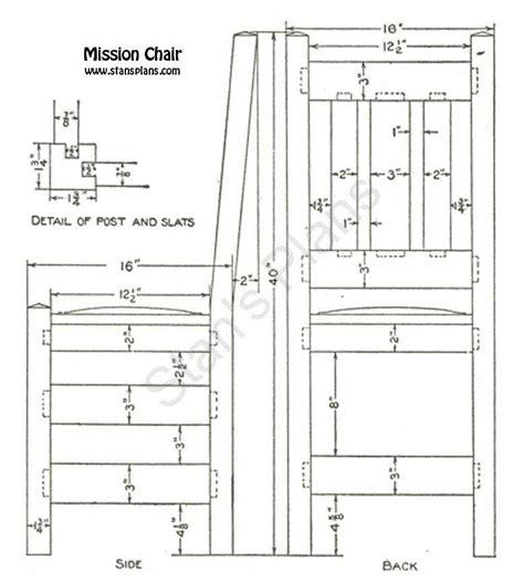 Mission-Chair-Plans