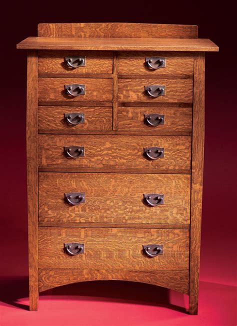 Mission-Chest-Of-Drawers-Plans