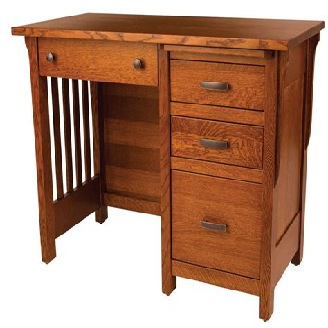 Mission-Desk-Woodworking-Plans
