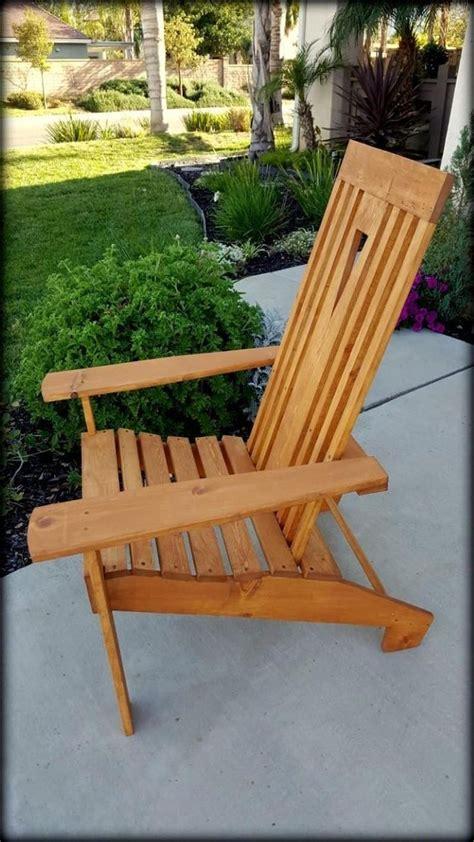 Mission-Style-Adirondack-Chair