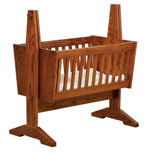 Mission-Style-Baby-Cradle-Plans