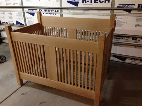 Mission-Style-Baby-Crib-Plans