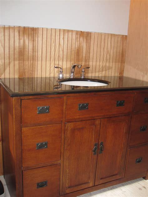 Mission-Style-Bathroom-Vanity-Plans