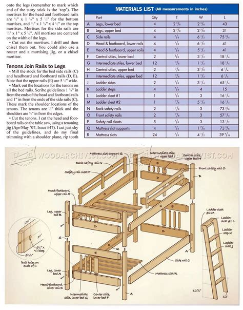 Mission-Style-Bunk-Bed-Plans
