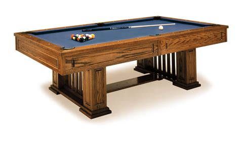 Mission-Style-Pool-Table-Plans