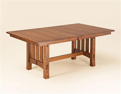 Mission-Tressle-Dining-Table-Plans