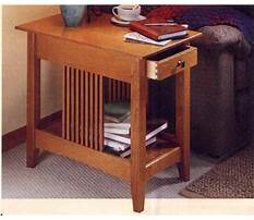Best Mission end table plans free