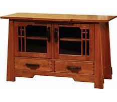 Best Mission style tv stand woodworking plans