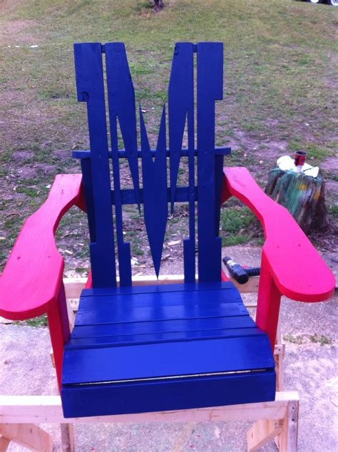 Mississippi-Adirondack-Chair