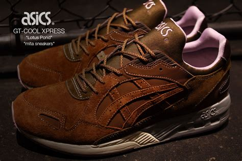 Mita Sneakers X Asics Gt-cool Express Lotus Pond