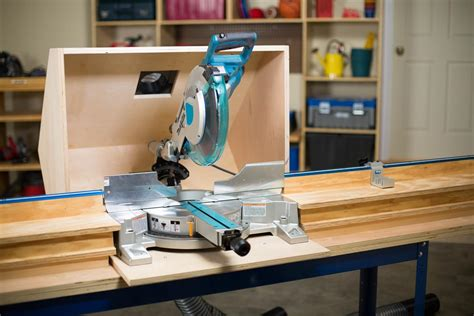 Miter Saw Dust Hood Plans