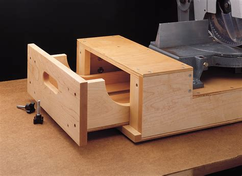 Miter Saw Station Woodworking Plans
