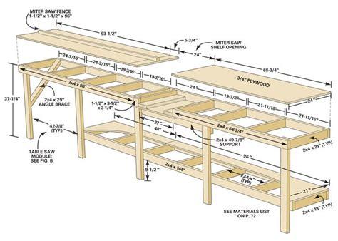 Miter-Bench-Plans