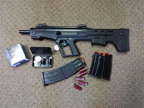 Mka Bullpup Tactical Shotgun And Remington 870 Express Tactical Pump Action Shotgun