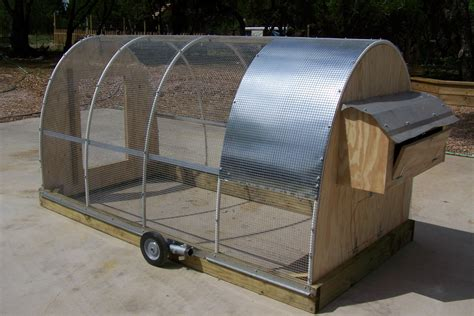 Mobile Chicken Coop Design Plans