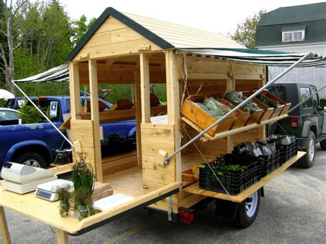 Mobile Farm Stand Plans
