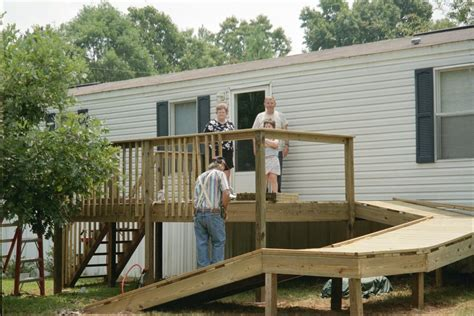 Mobile Home Ramp Plans