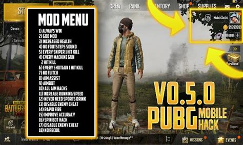 Mobile PUBG Cheat