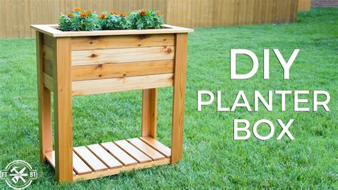 Mobile Planter Boxes Plans Do It Yourself