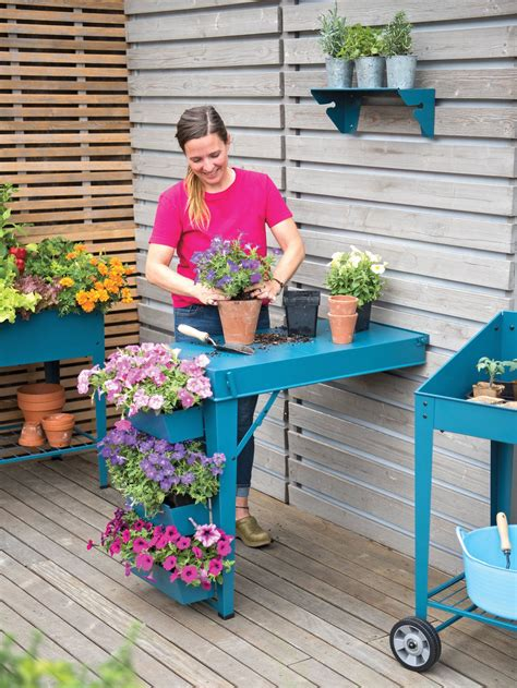 Mobile Potting Bench Plans